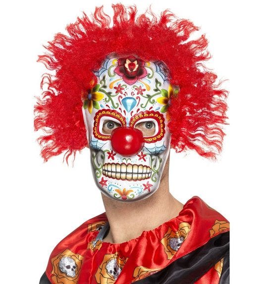 day of the dead clown masker